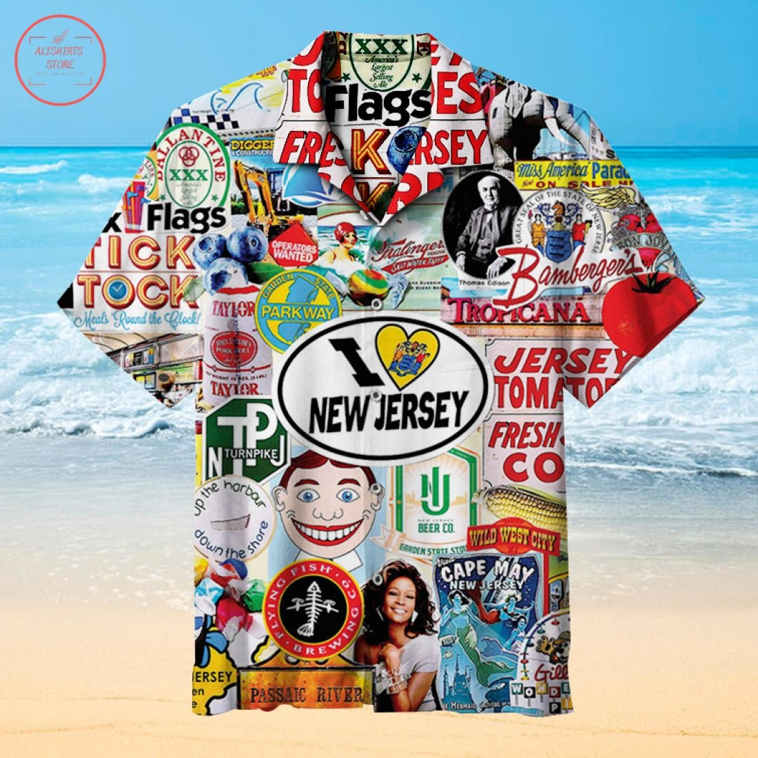 New Jersey Hawaiian Shirt