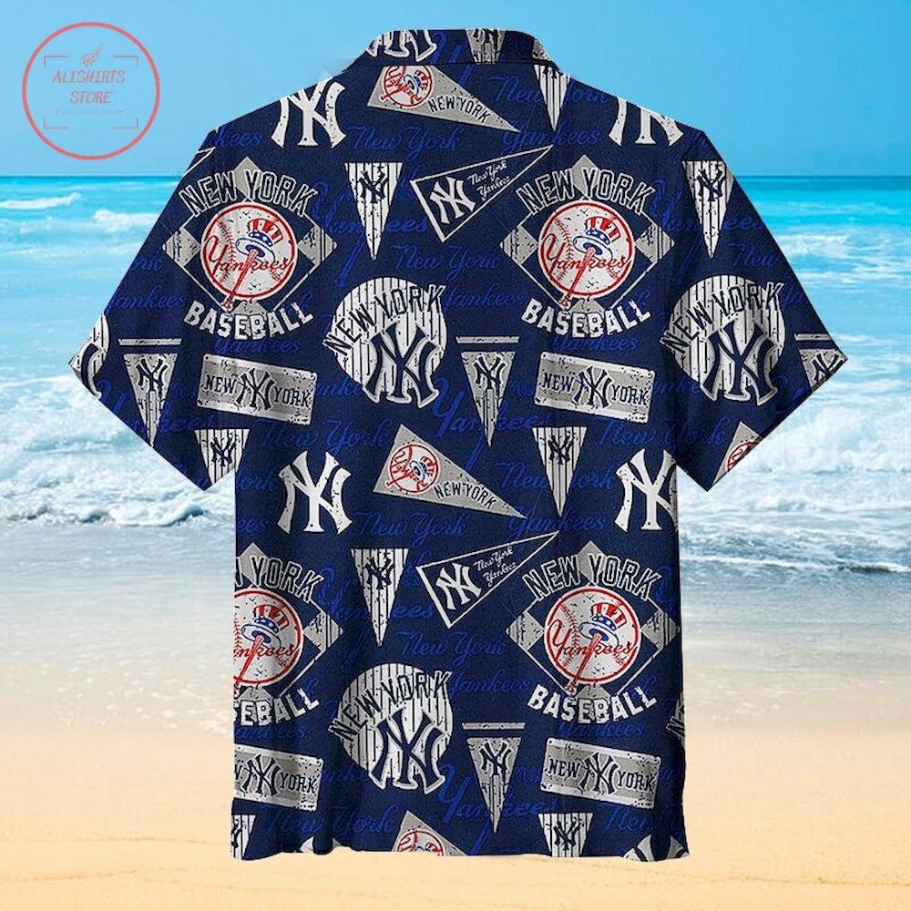 New York Yankees Baseball Hawaiian Shirt