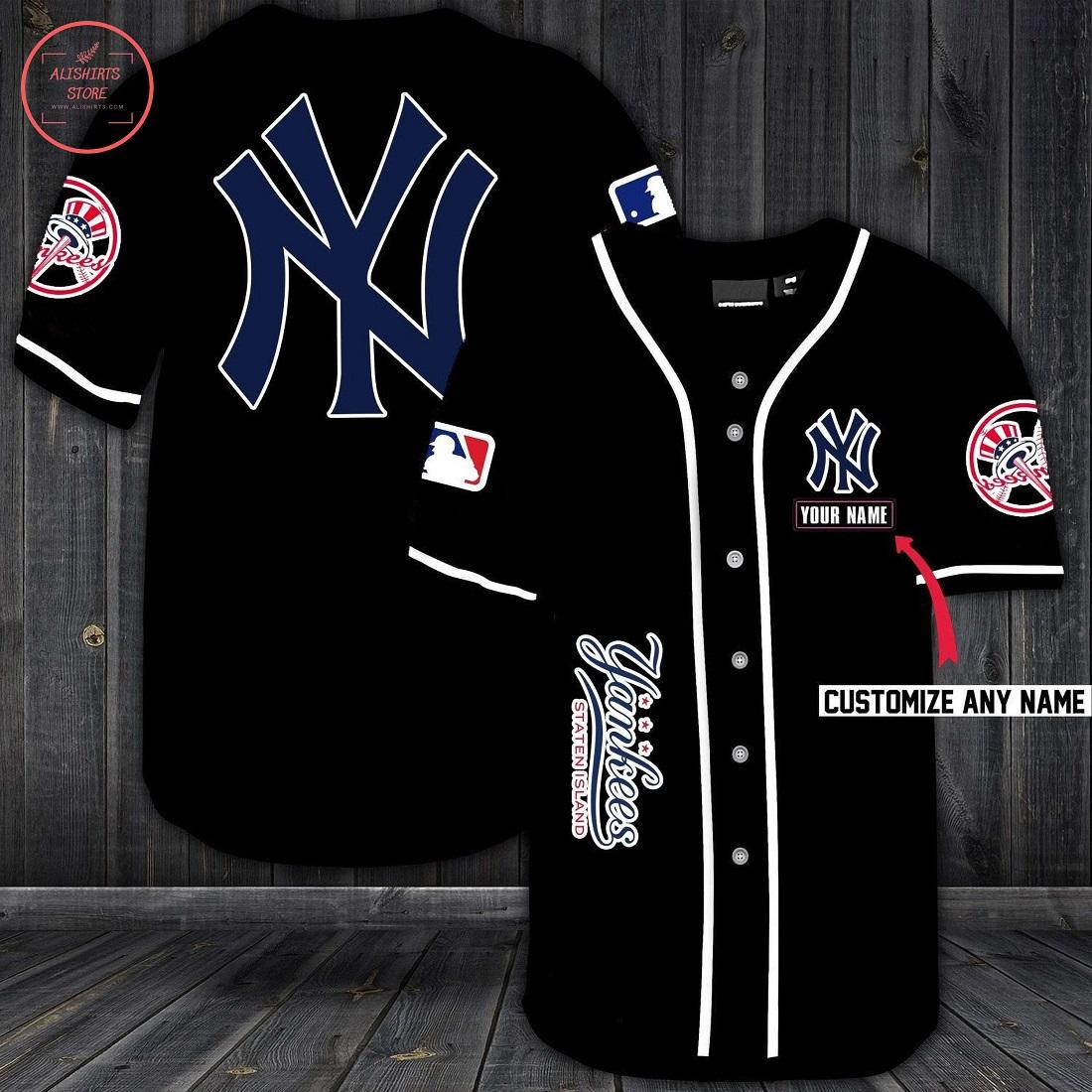 New York Yankees Personalized Baseball Jersey
