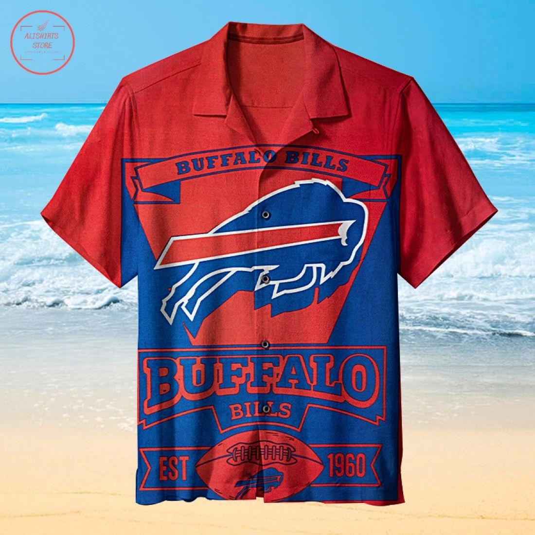 Nfl Buffalo Bills Logo Hawaiian Shirt