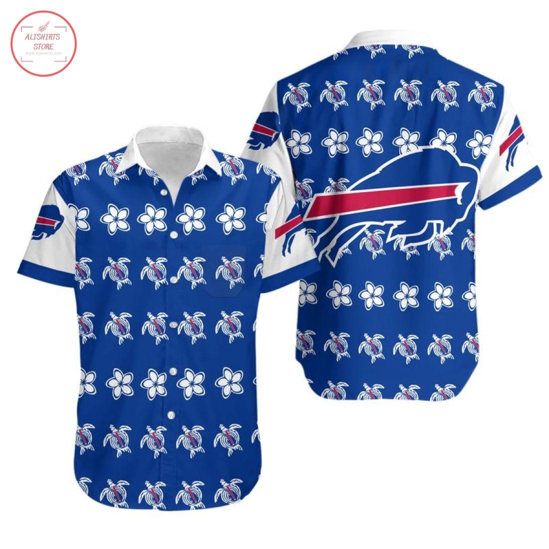 Nfl Buffalo Bills Turtle Hawaiian Shirt