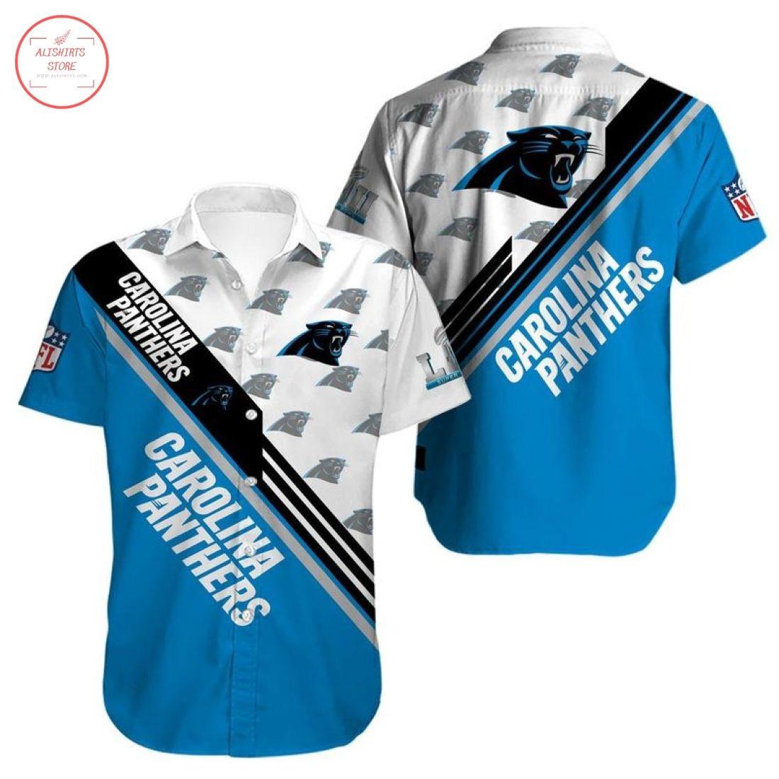 Nfl Carolina Panthers Hawaiian Shirt