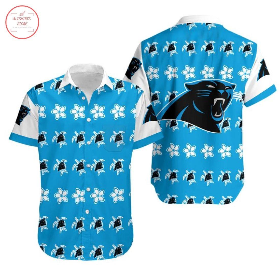 Nfl Carolina Panthers Turtle Hawaiian Shirt