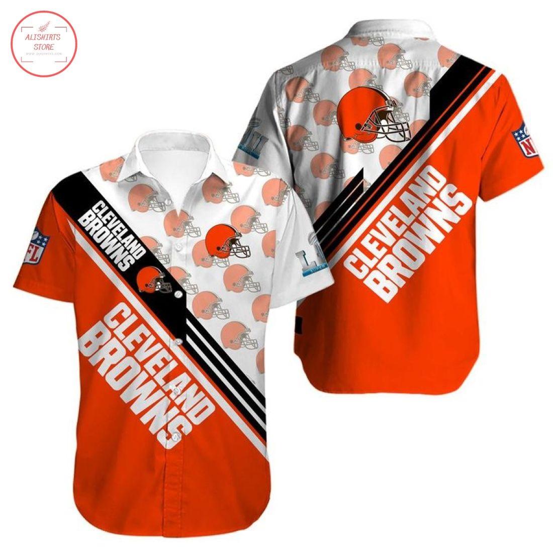 Nfl Cleveland Browns Hawaiian shirt