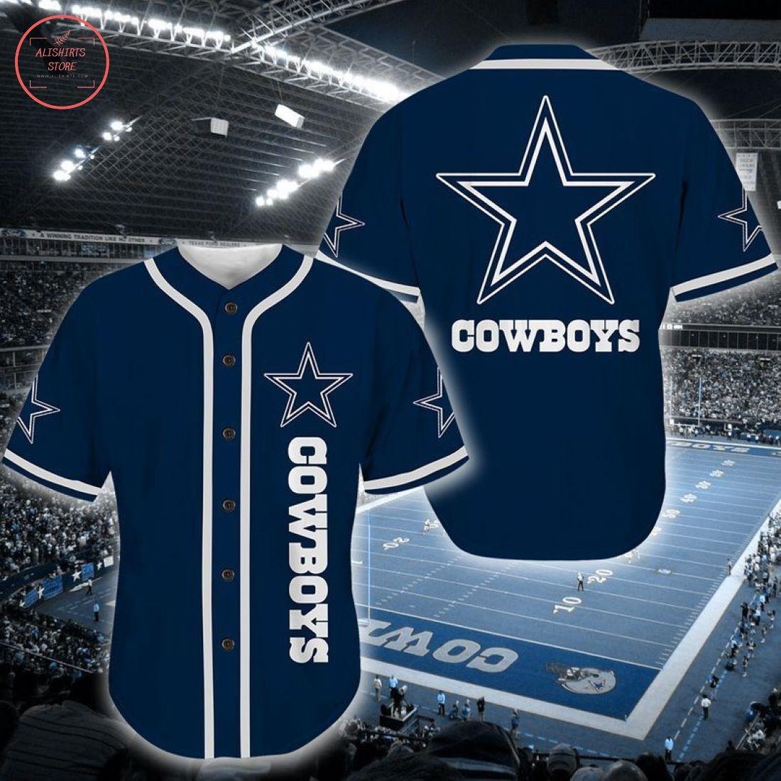 Nfl Dallas Cowboys Baseball Jersey