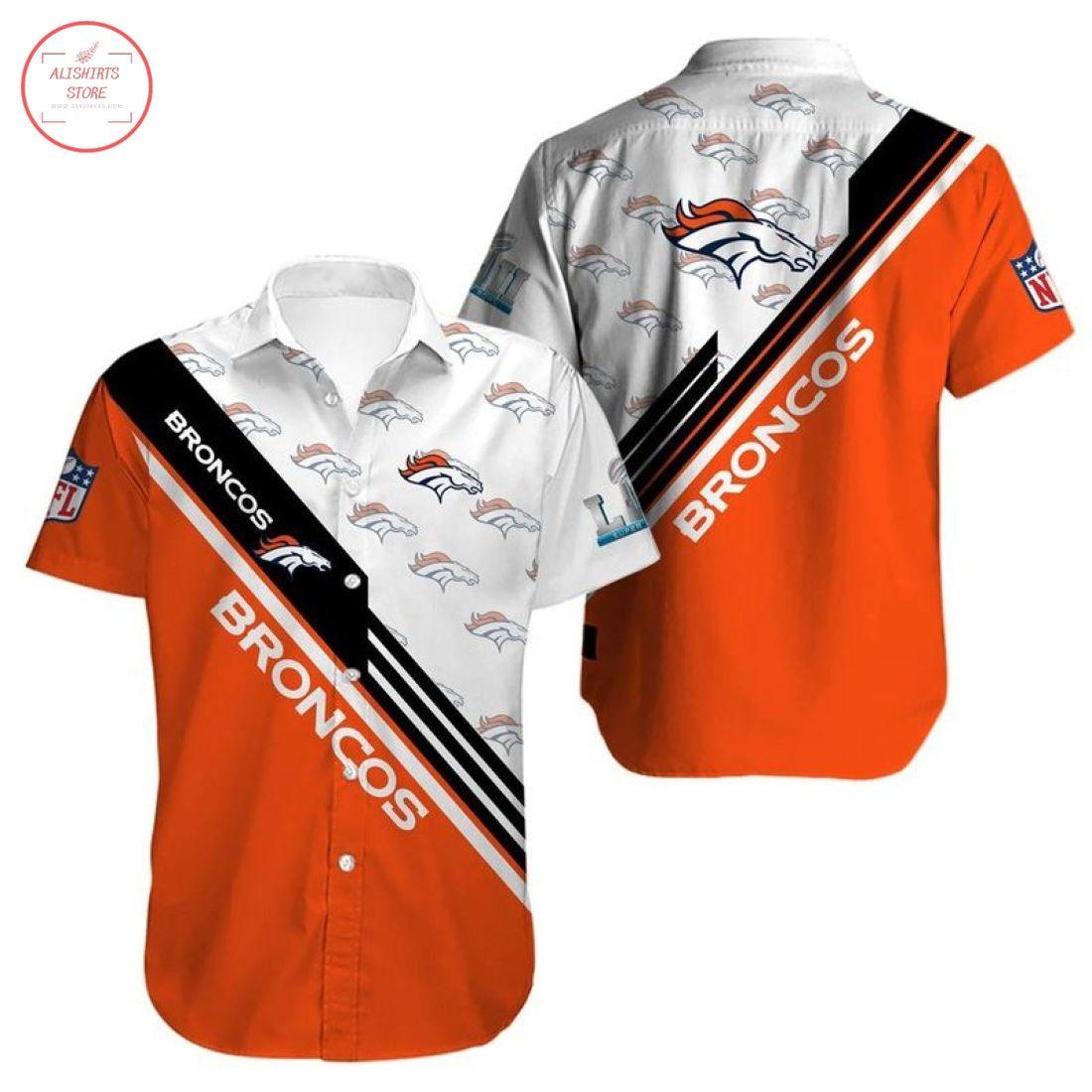 Nfl Denver Broncos Hawaiian Shirt