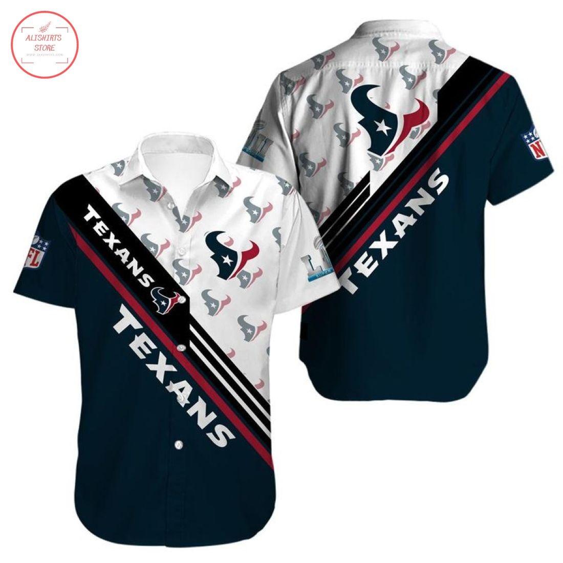Nfl Houston Texans Hawaiian shirt