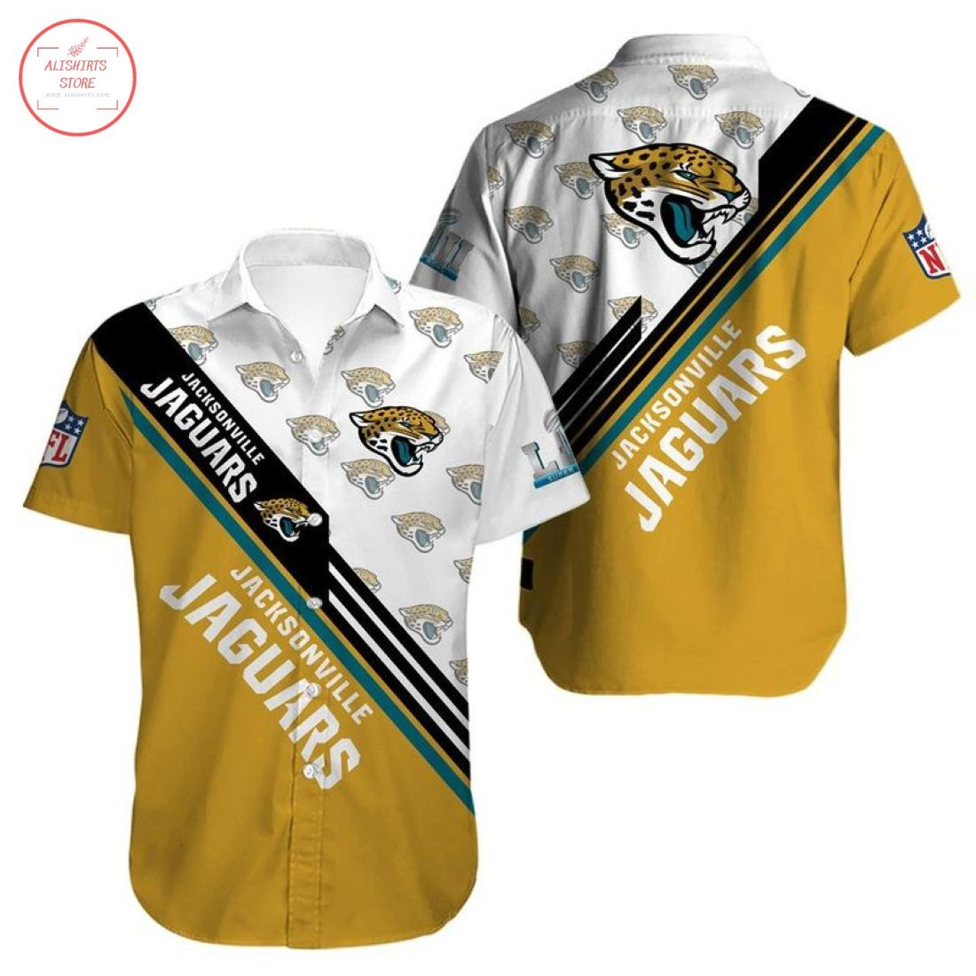 Nfl Jacksonville Jaguars Hawaiian Shirt