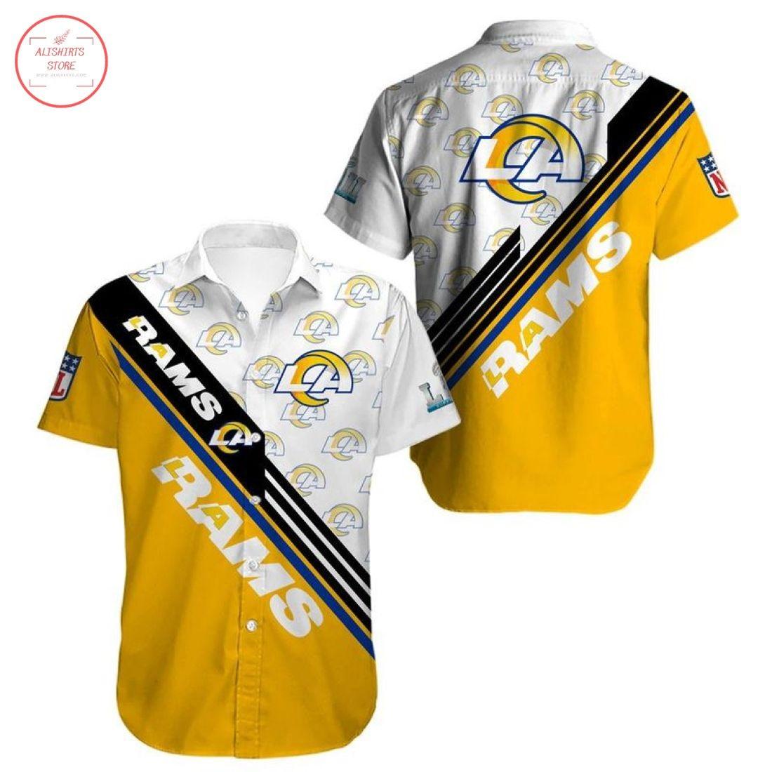 Nfl Los Angeles Rams Hawaiian Shirt