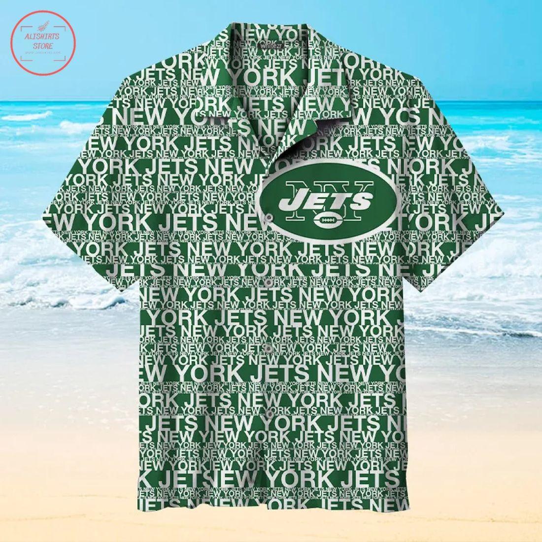 Nfl New York Jets Hawaiian Shirt