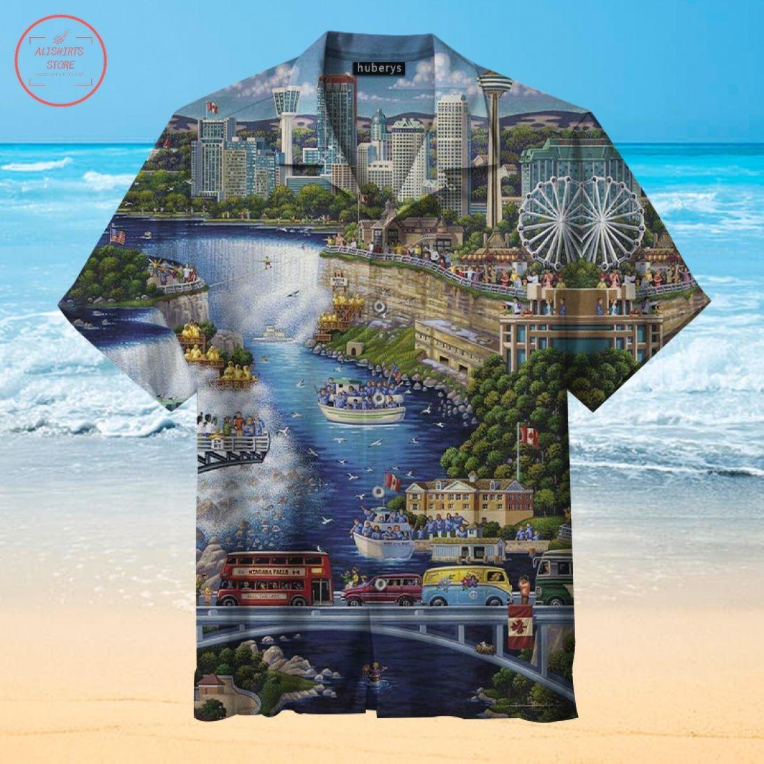 Niagara Falls Hawaiian Shirt