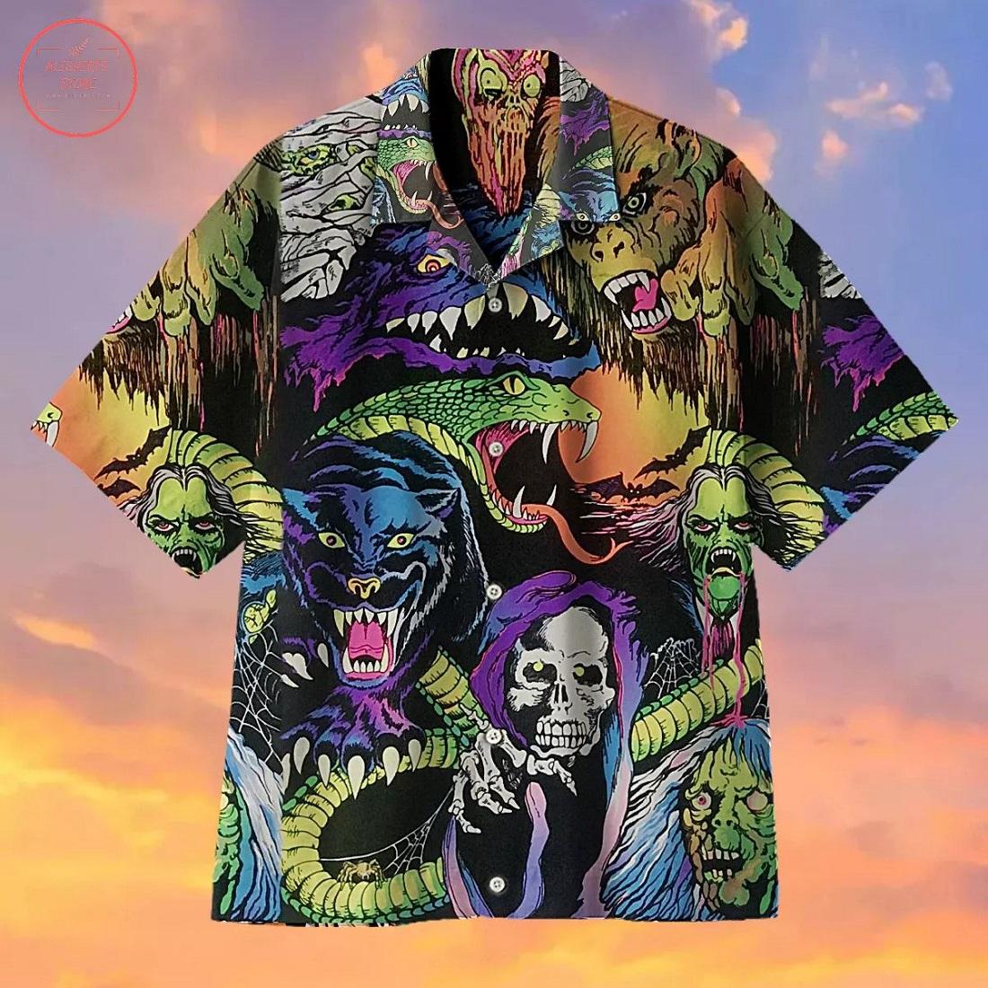 Nightmare Creatures Hawaiian Shirt