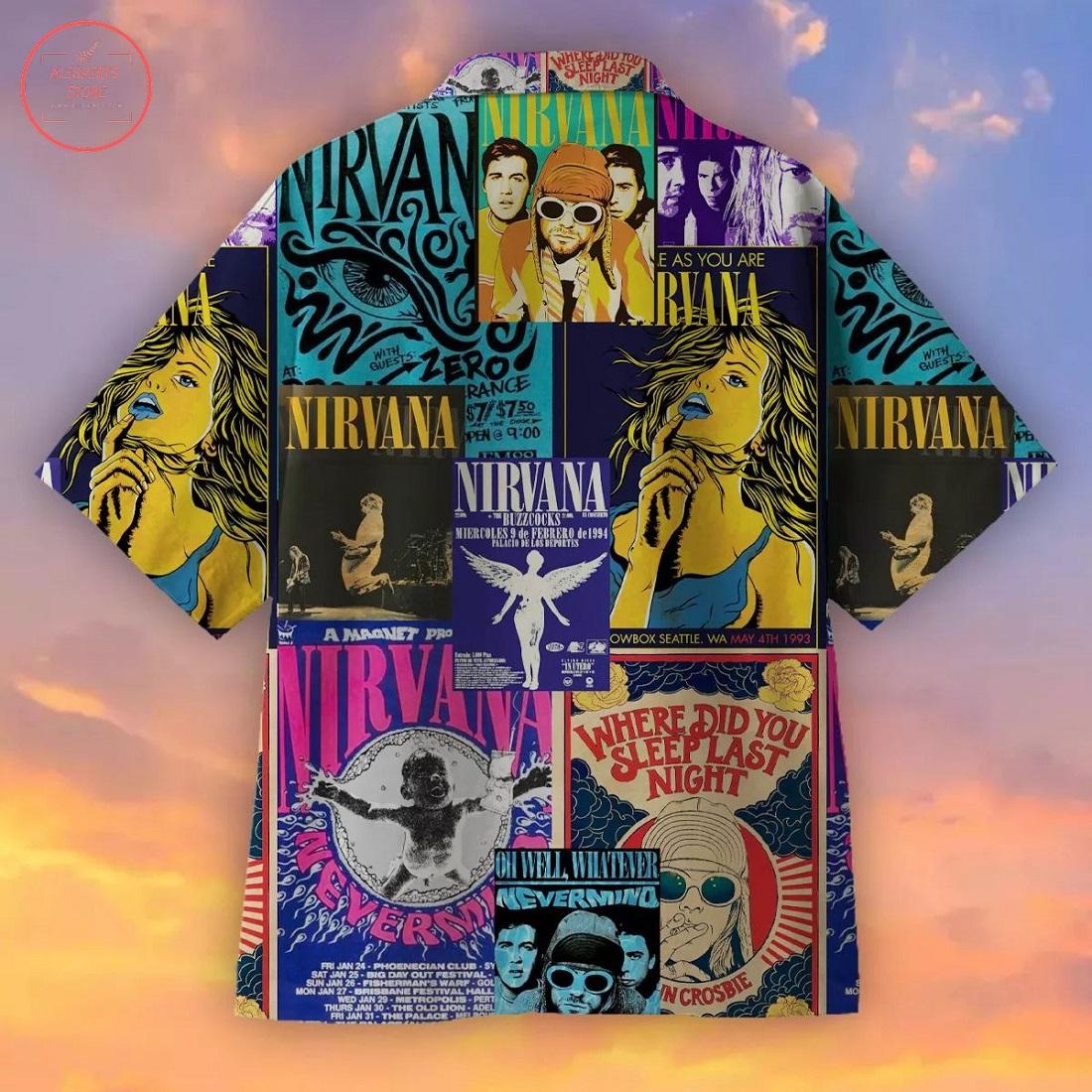 Nirvana Creative Hawaiian Shirt