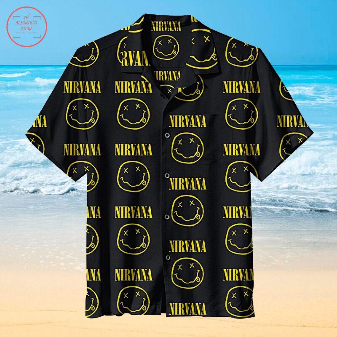 Nirvana Rock Band Hawaiian Shirt