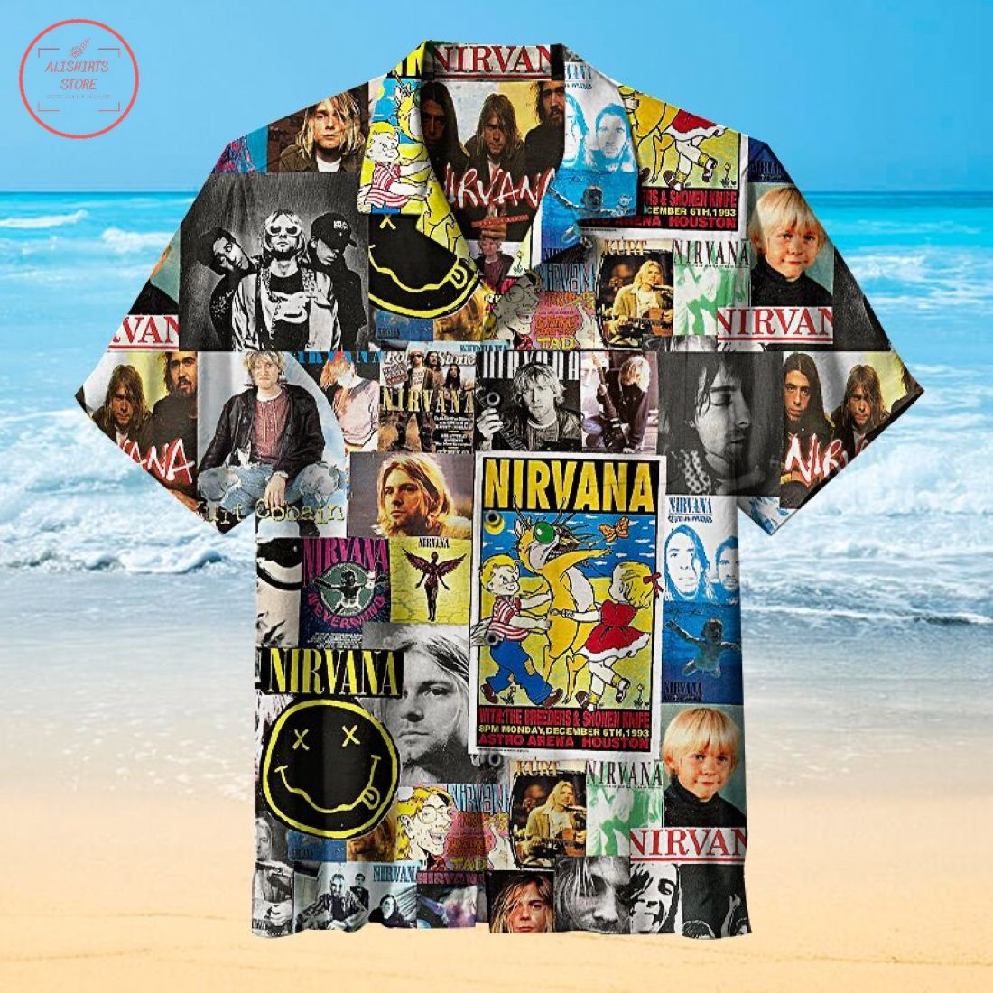 Nirvana Universal Hawaiian Shirt