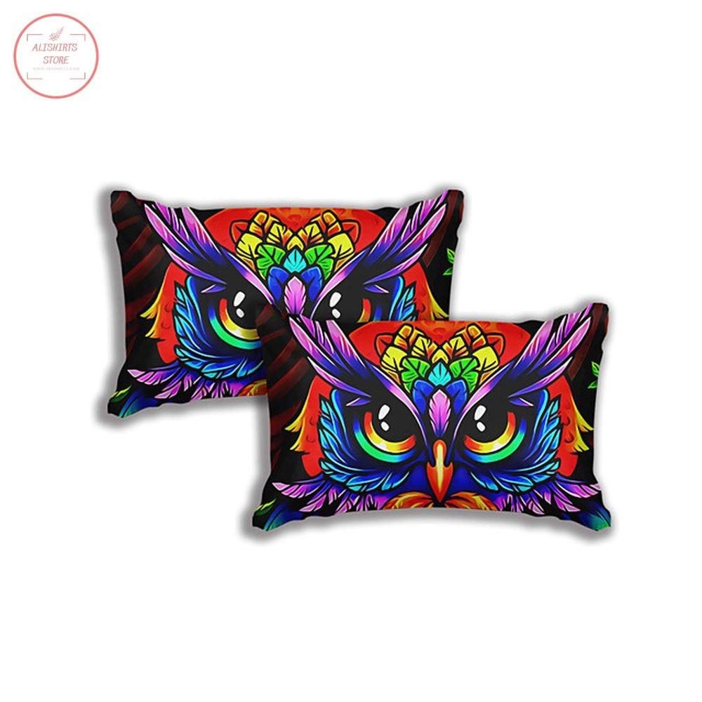 Owl Print 3-Piece Duvet Cover Set Hotel Bedding Sets