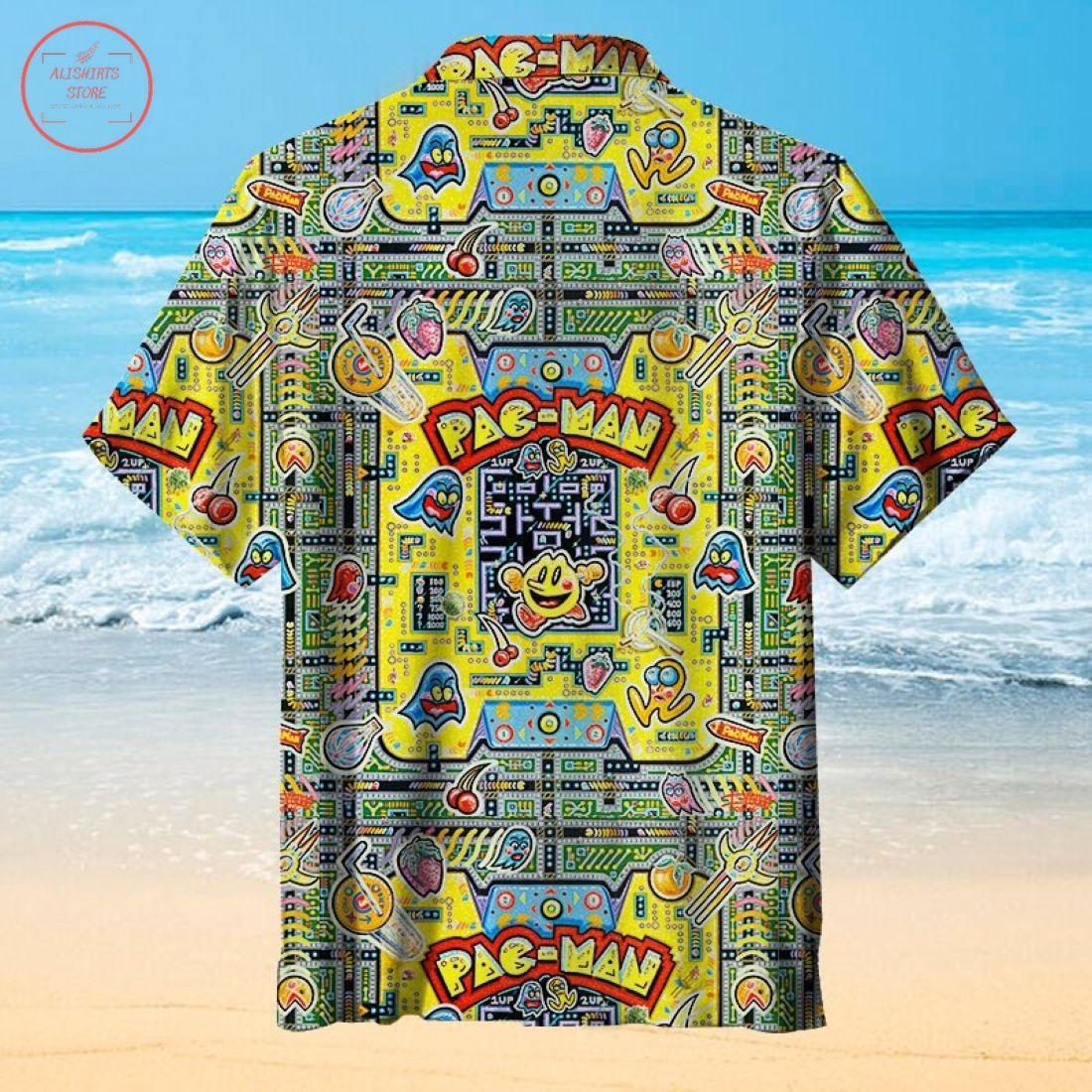Pac-Man Hawaiian Shirt