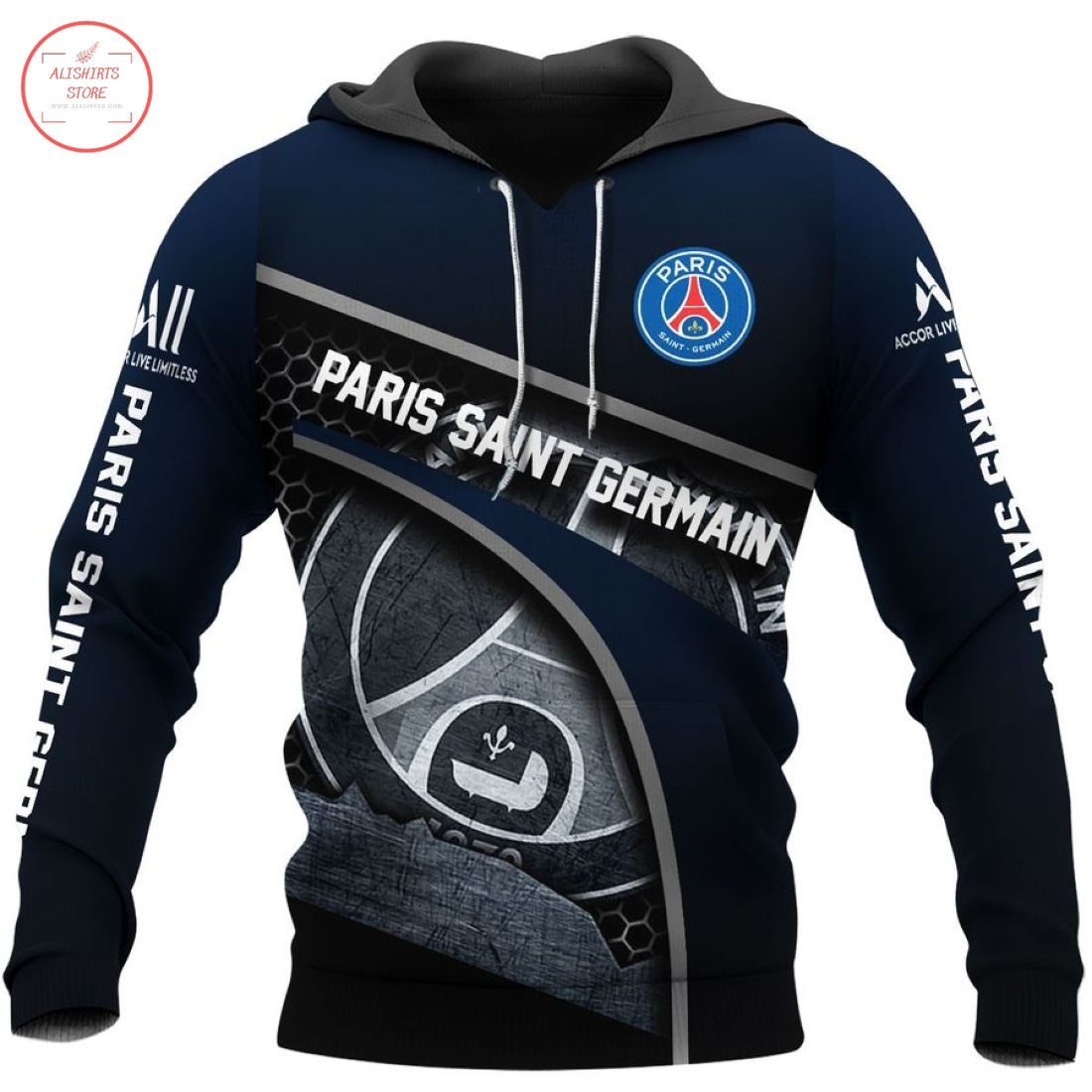 Paris Saint-German 3D Hoodie