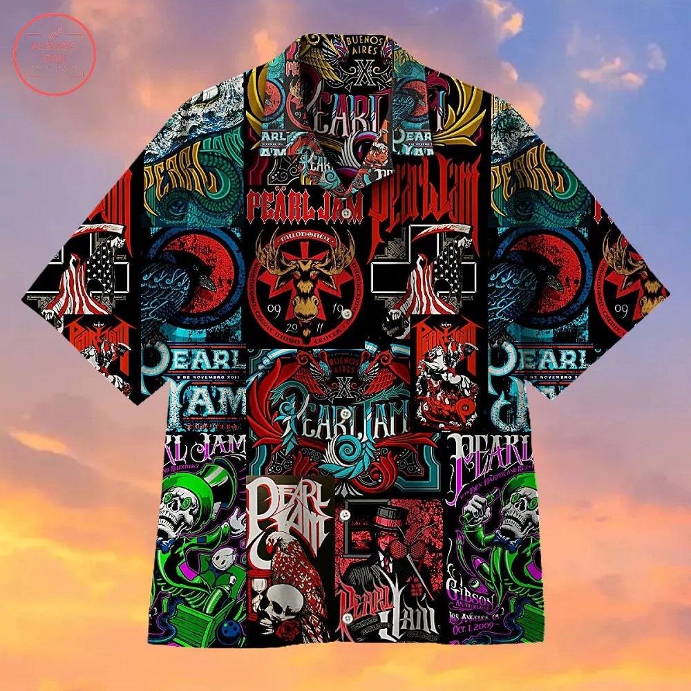 Pearl Jam Creative Hawaiian Shirt