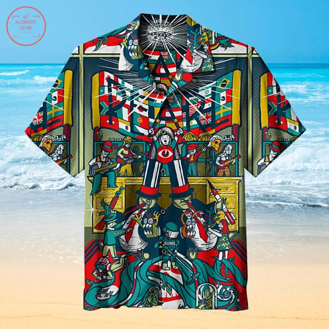 Pearl Jam Hawaiian Shirt