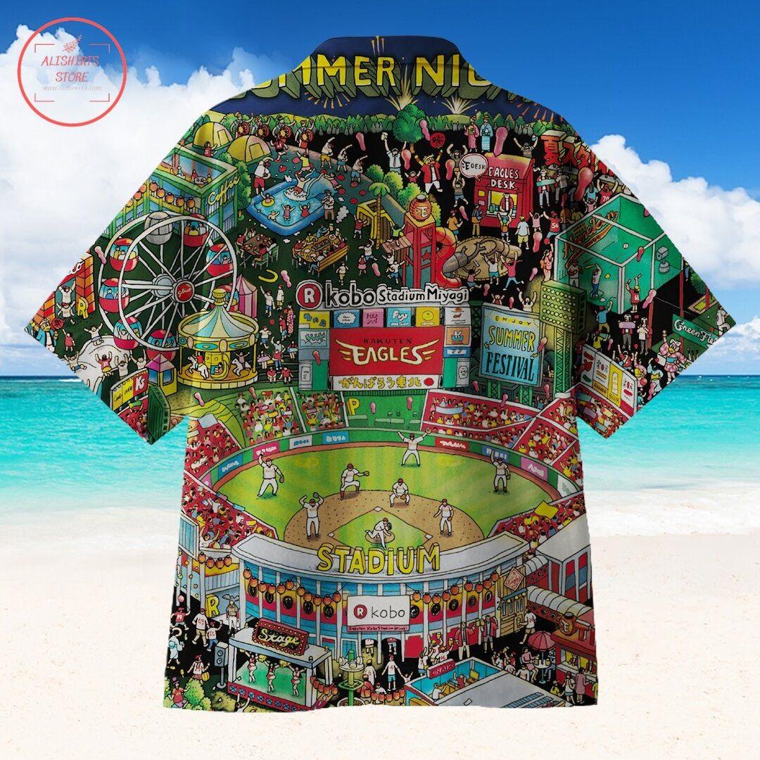 People Shout Baseball Hawaiian Shirt