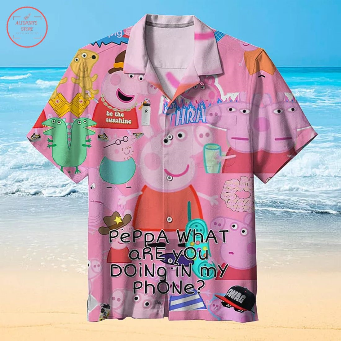 Peppa Pig Family Hawaiian Shirt
