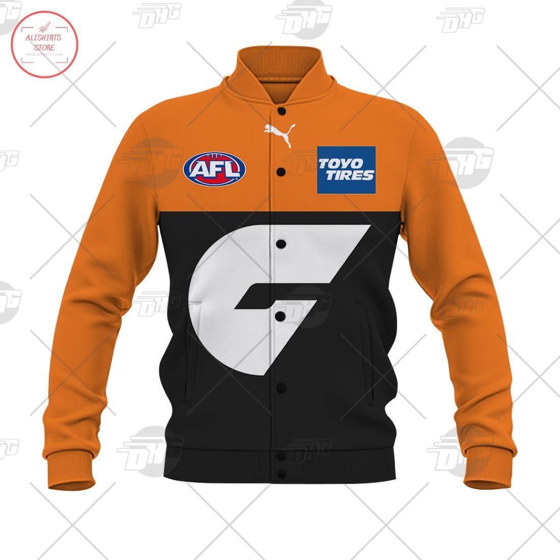 Personalized AFL Gws Giants 2021 Letterman Jacket