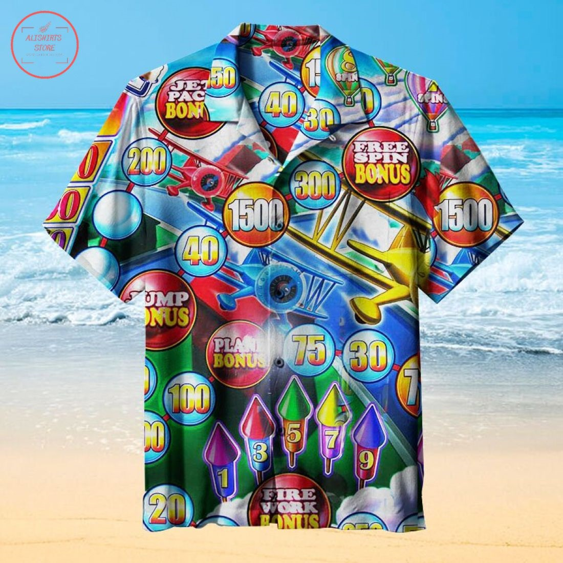 Pinball Wizard-the Signs Of The Times Collection Hawaiian Shirt