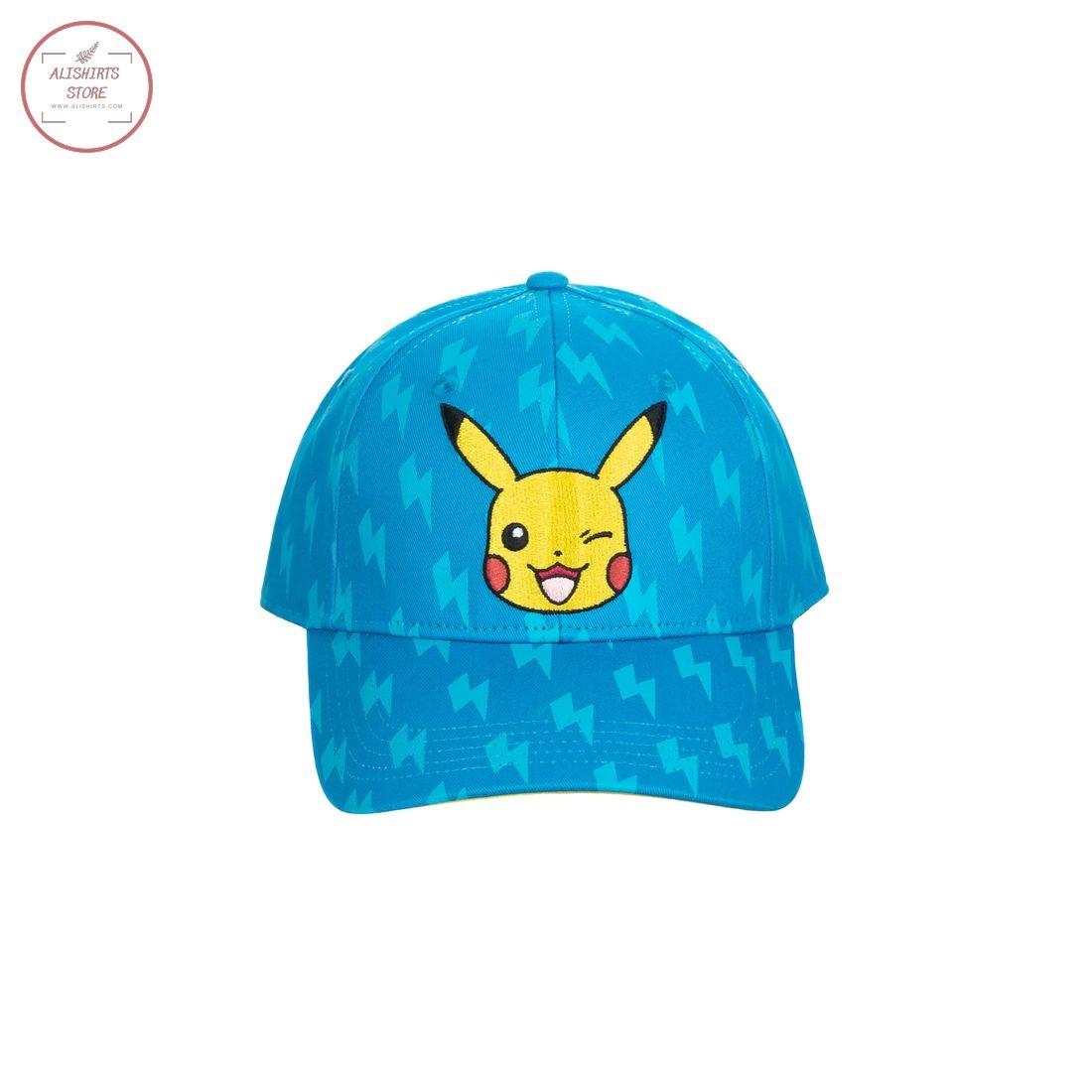 Pokemon Pikachu Allover Print Hat