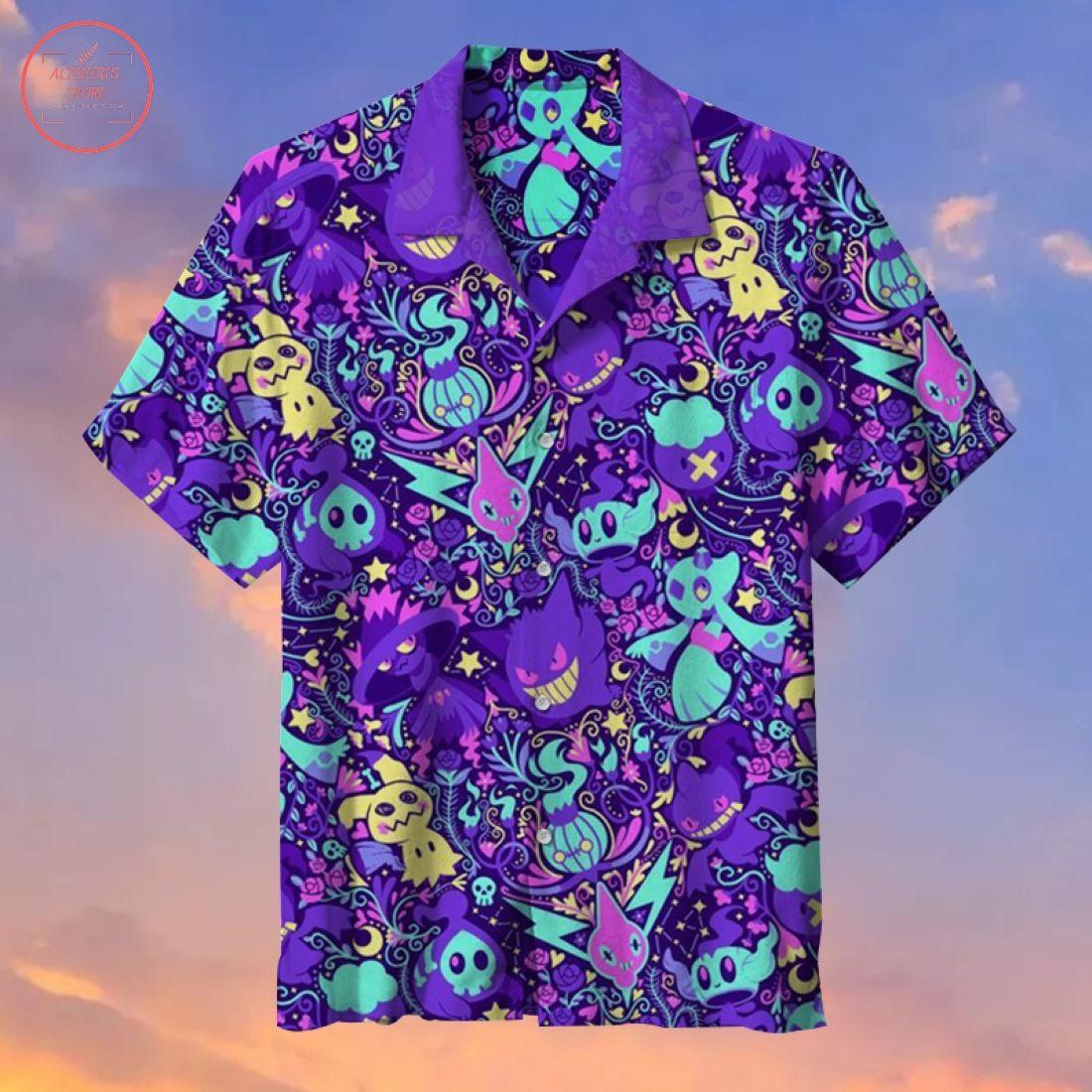 Pokemon Showdown Hawaiian Shirt