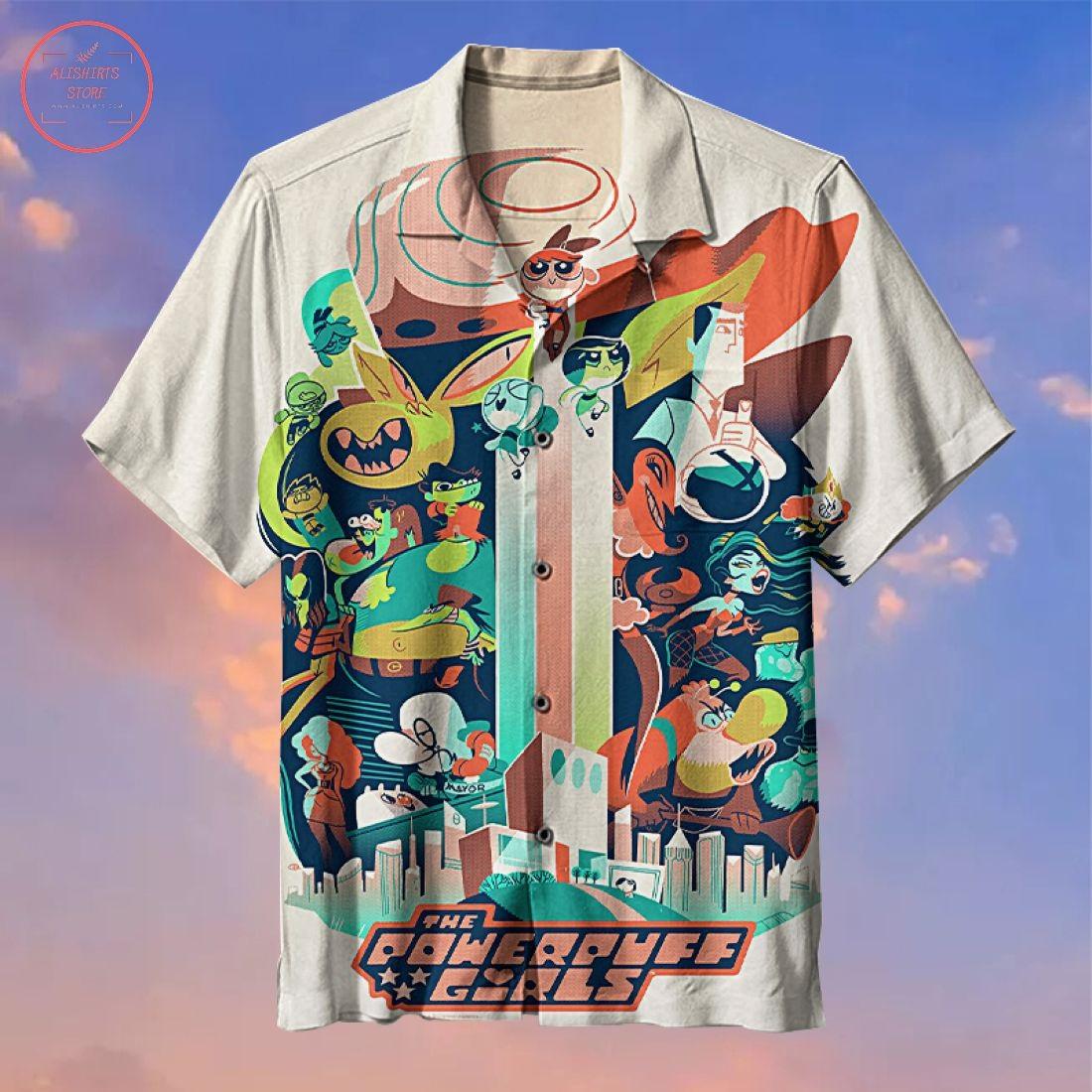 Powerpuff Girls Hawaiian Shirt