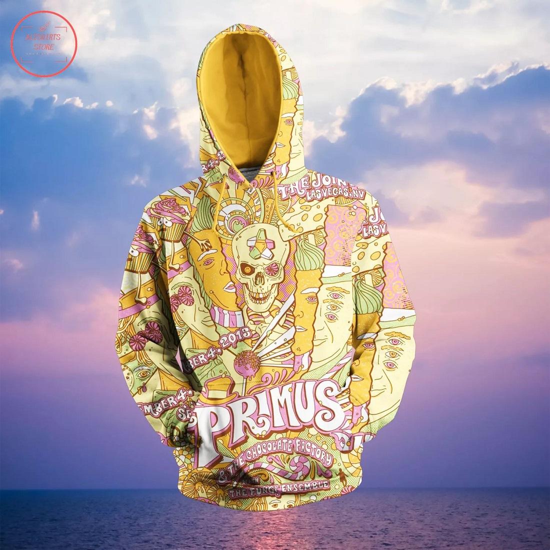 Primus Band 3D Hoodie