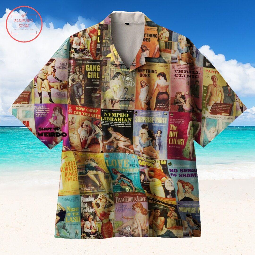 Pulp Fiction Love Hawaiian Shirt