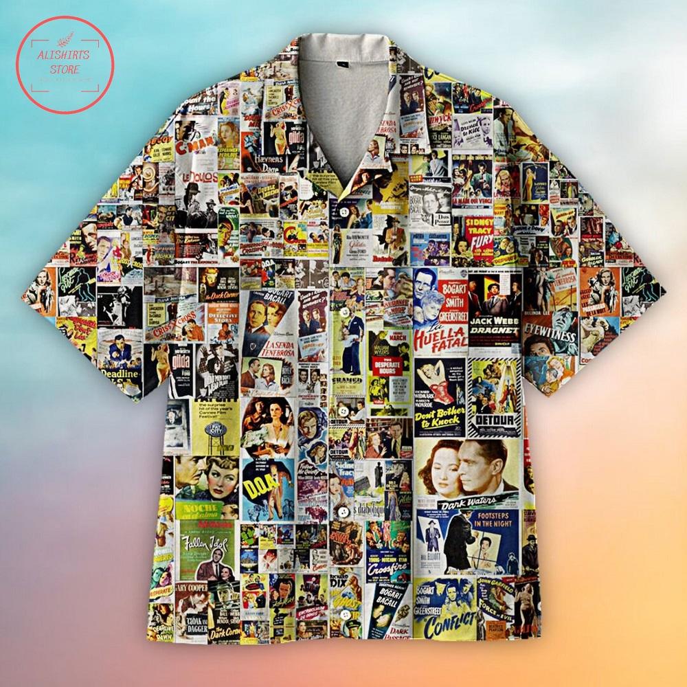 Retro Movie Hawaiian Shirt