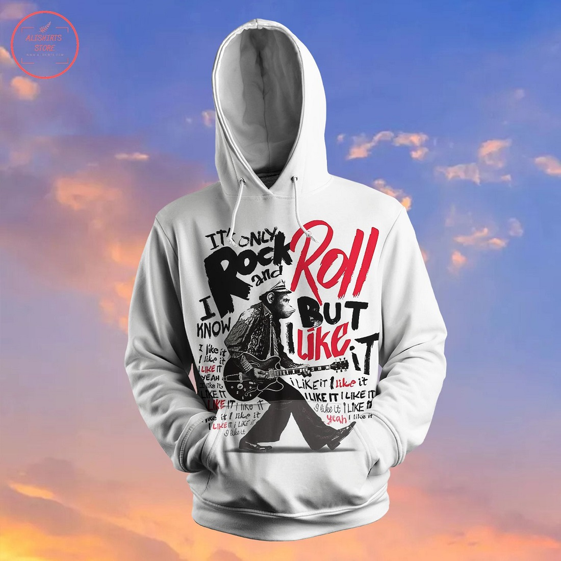 Rock And Roll Culture Hoodie