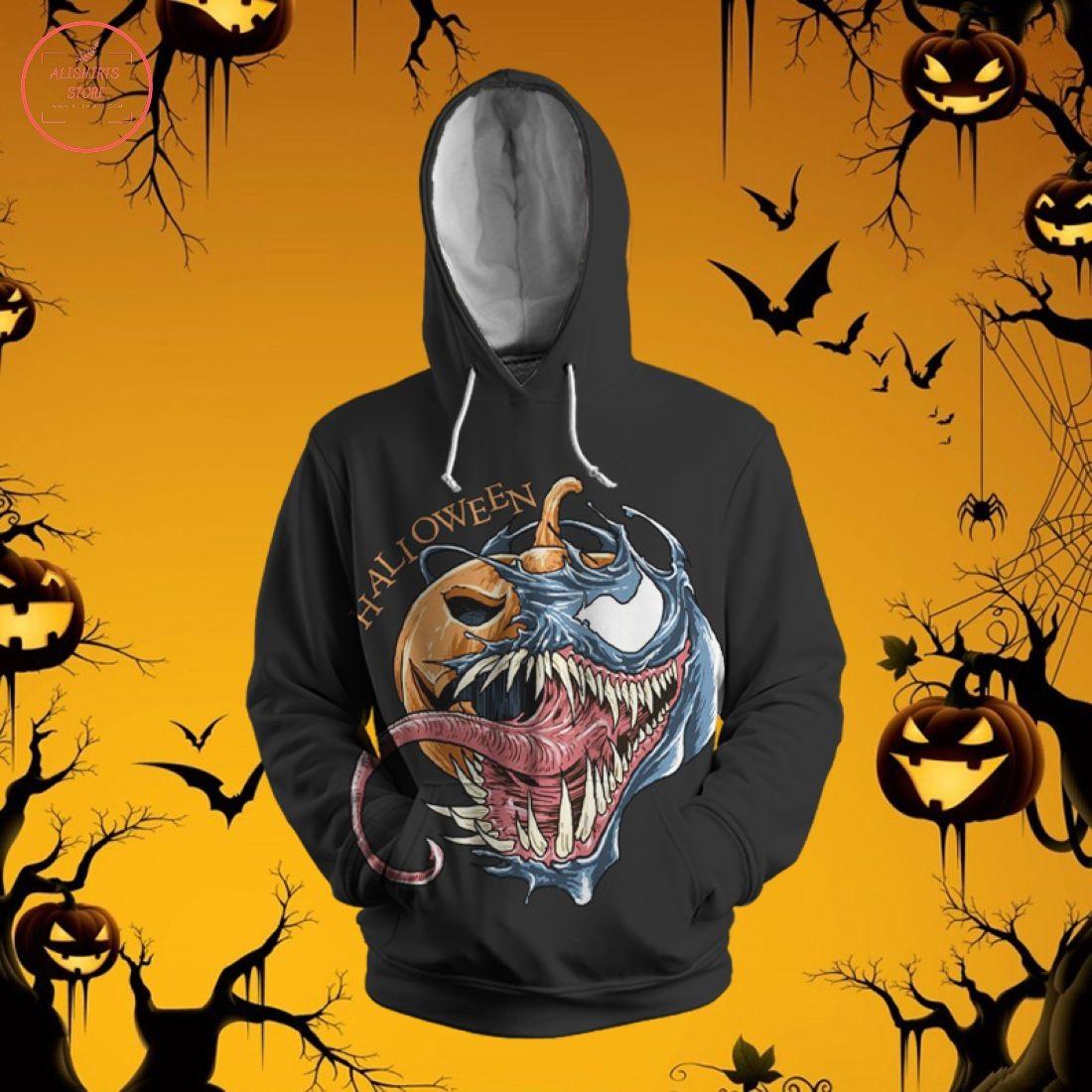 Scary Pumpkin Head 3D Hoodie