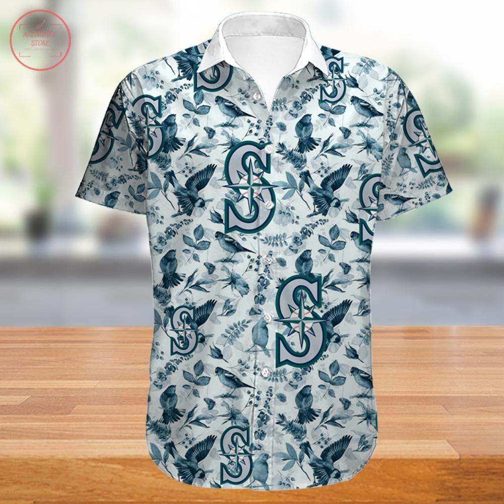 Seattle Mariners Hawaiian Shirt