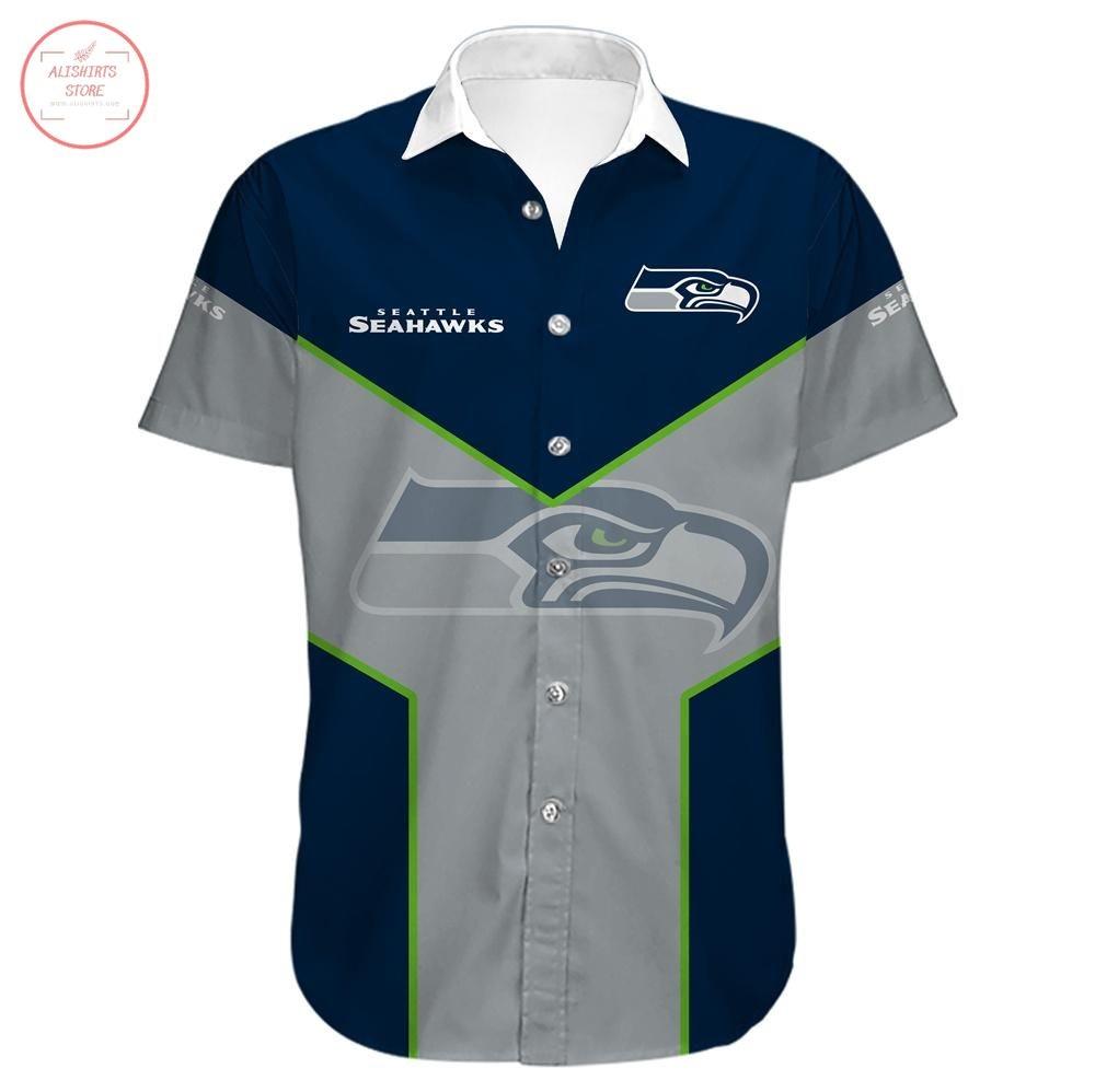Seattle Seahawks Hawaiian Shirt