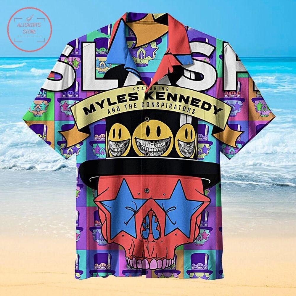 Slash Living The Dream Hawaiian Shirt