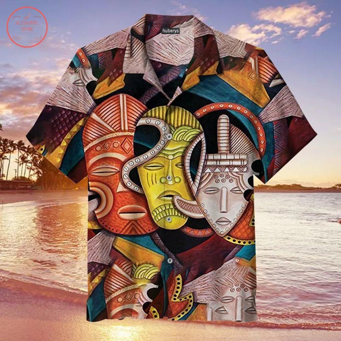 Society Masks Hawaiian Shirt