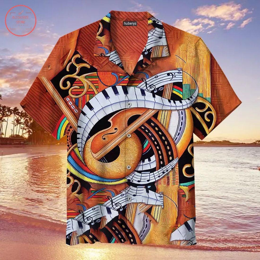 Sound of Soul Strings Hawaiian Shirt