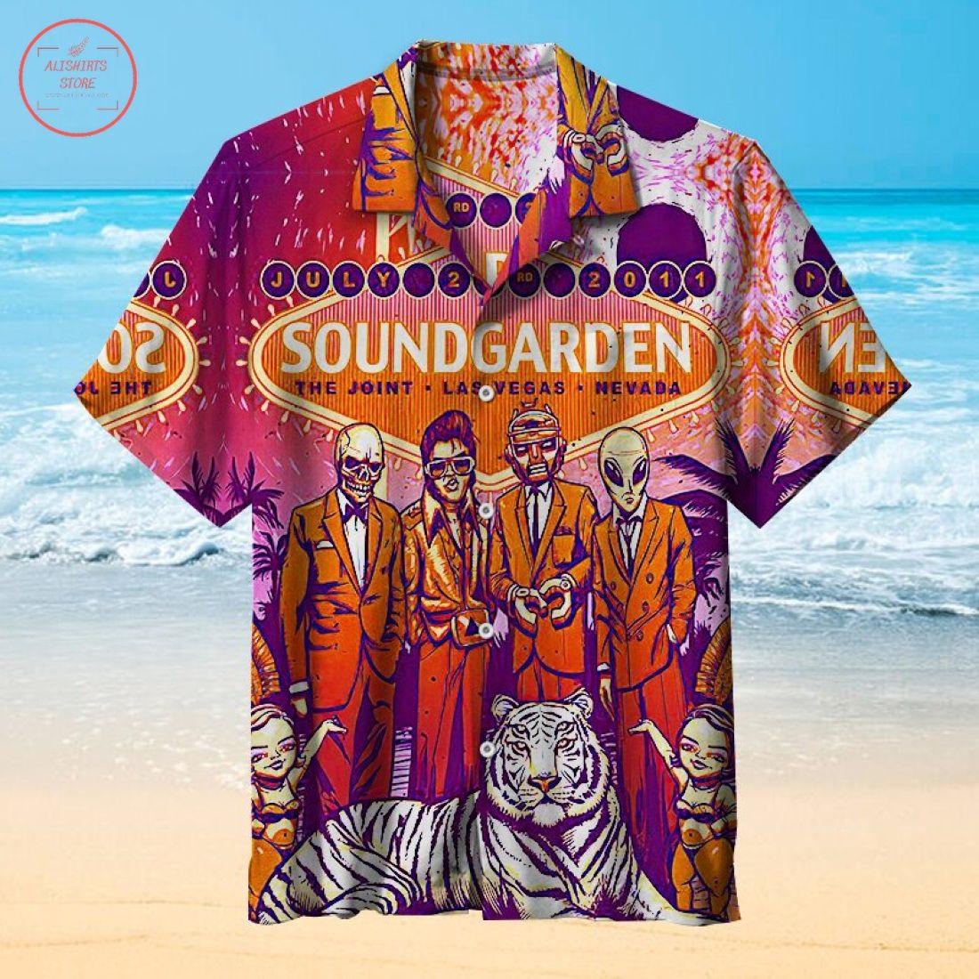 Soundgarden Hawaiian Shirt