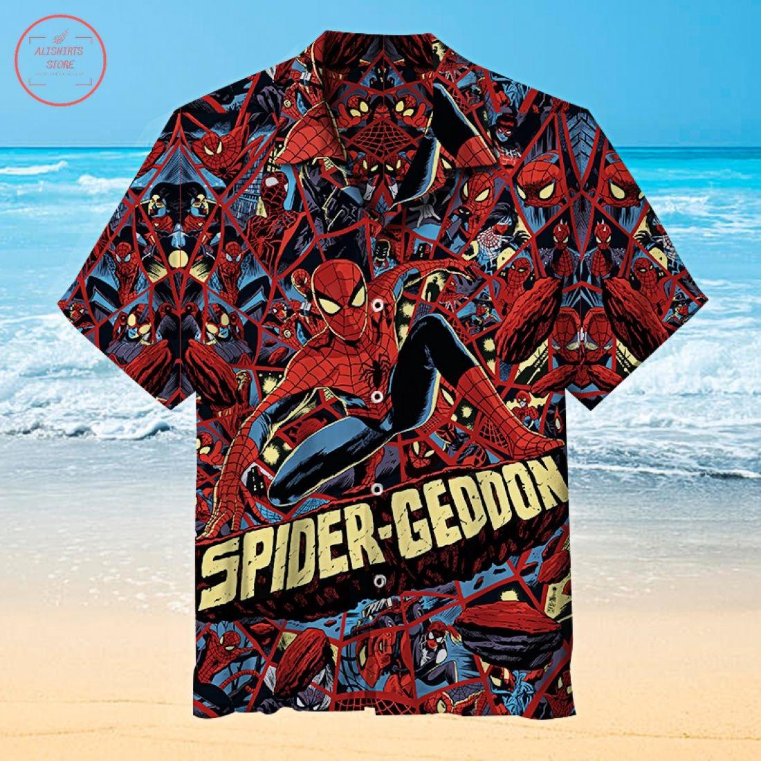 Spiderman Hawaiian Shirt