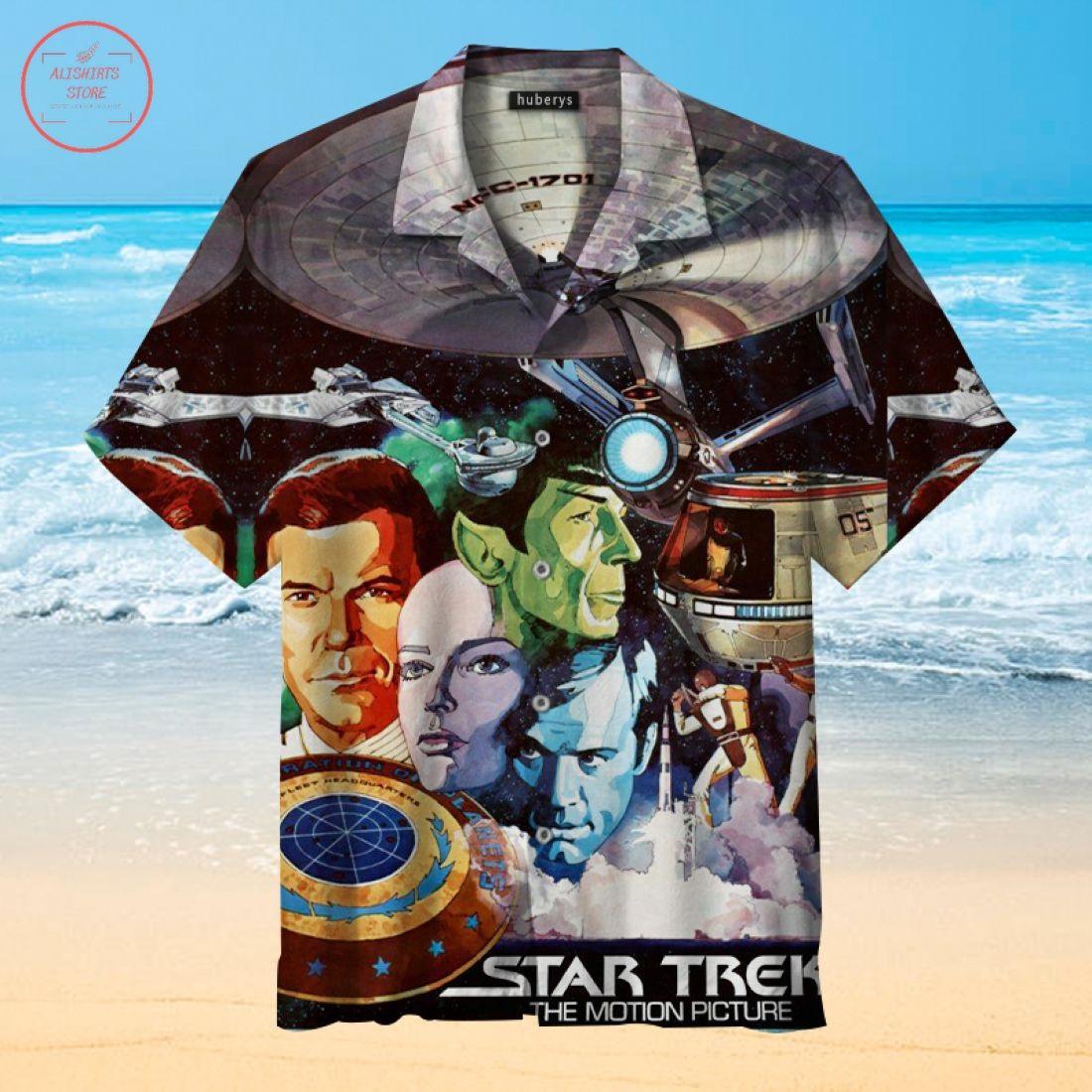 Star Trek The Motion Picture Hawaiian Shirt