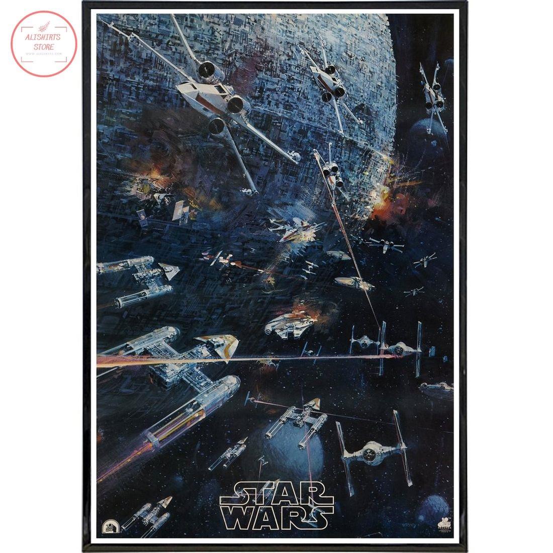 Star Wars 1977 Concept Canvas Wall Art