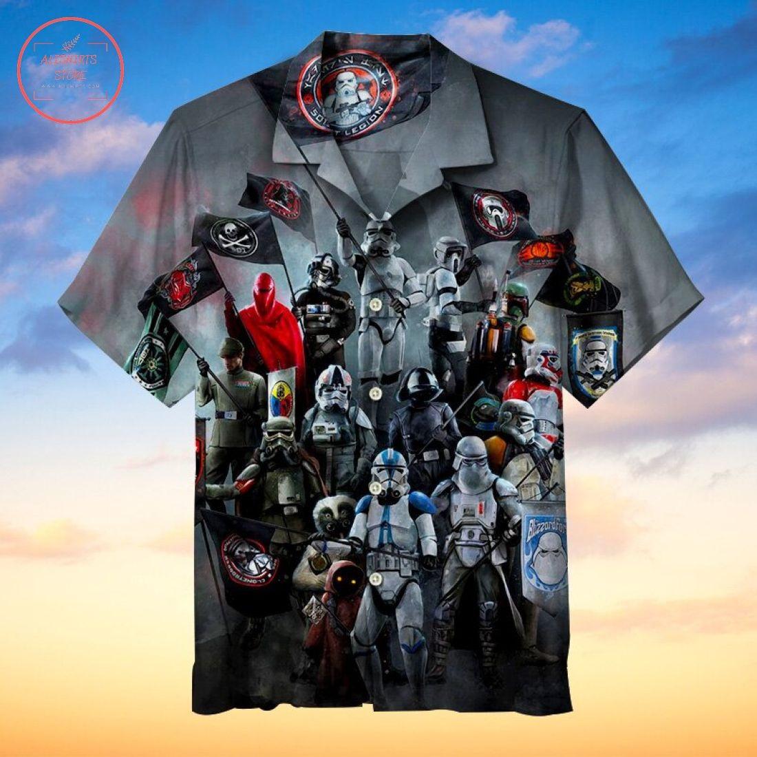 Star Wars 501st Regiment Hawaiian Shirt