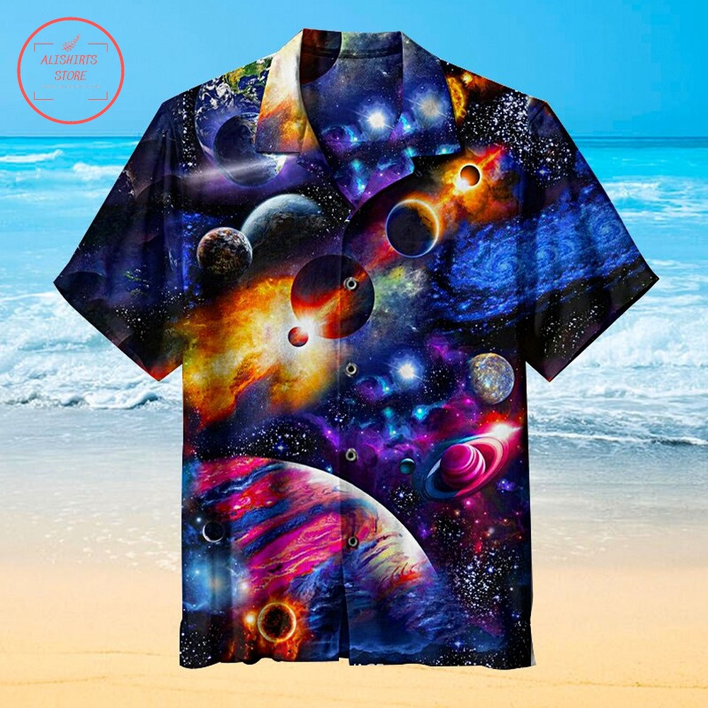Stunning Universe Milky WayHawaiian Shirt