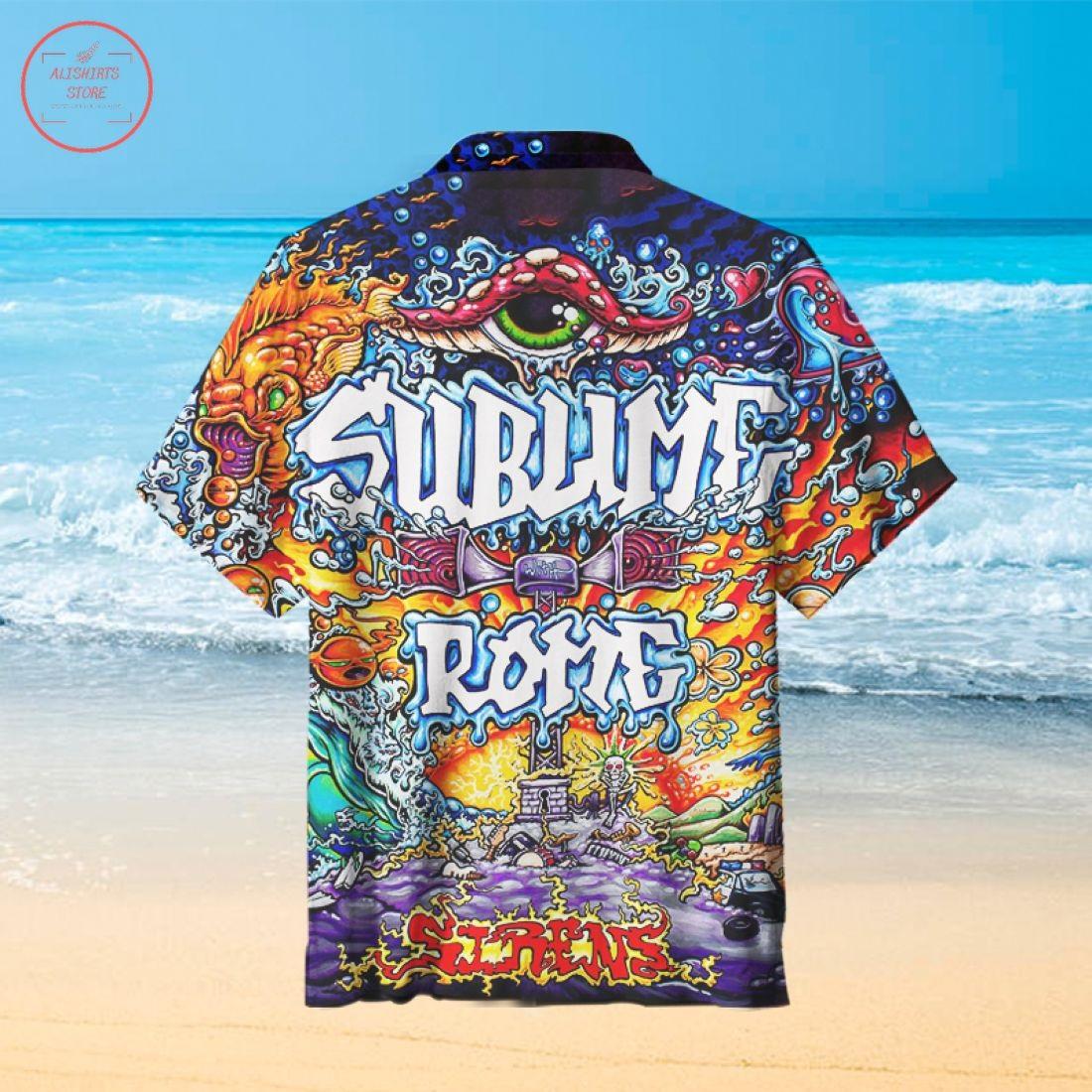 Sublime with Rome Hawaiian Shirt