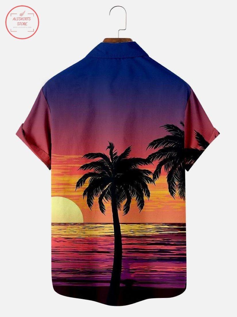 Sunset Today Hawaiian Shirt