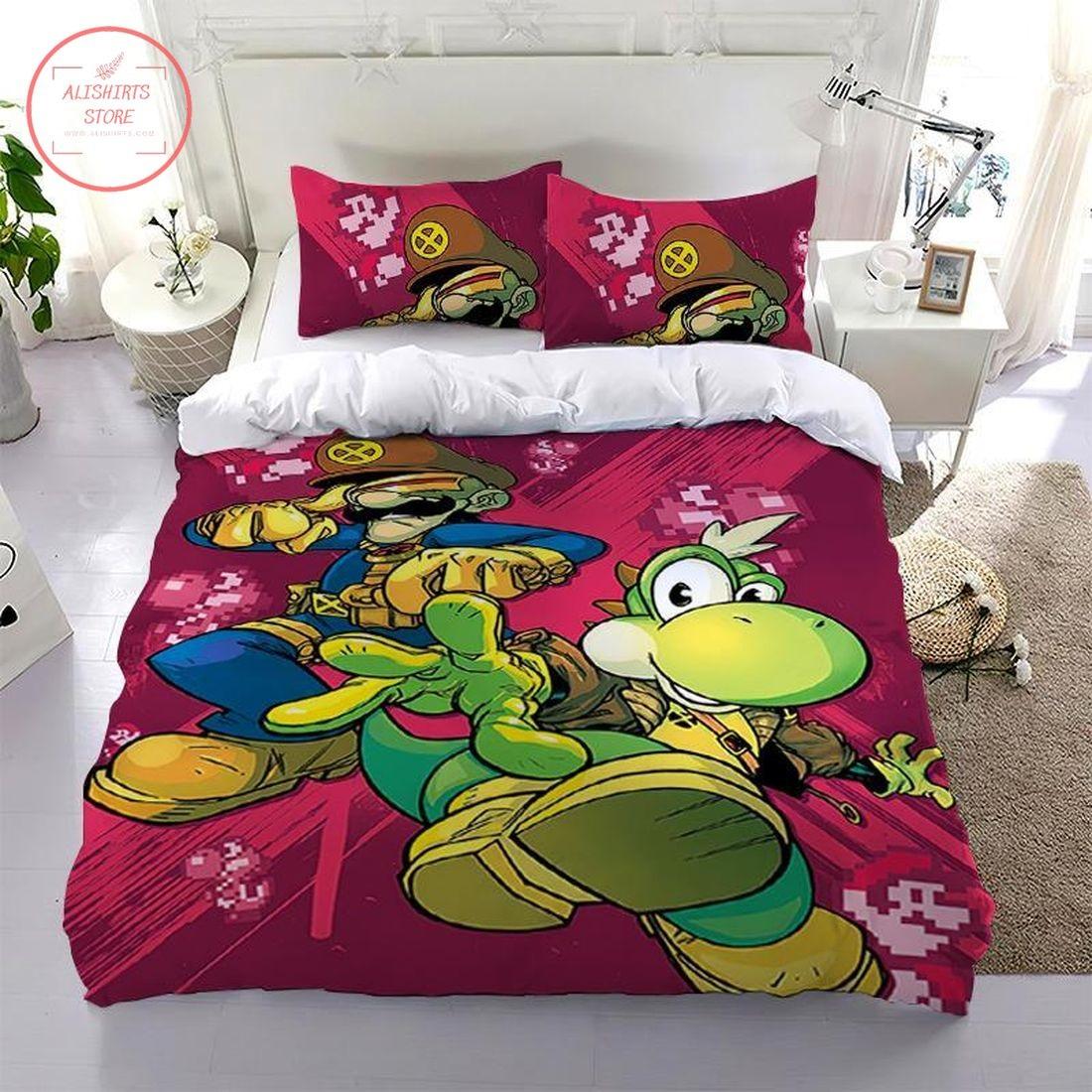 Super Mario Animated Character Bedding Set